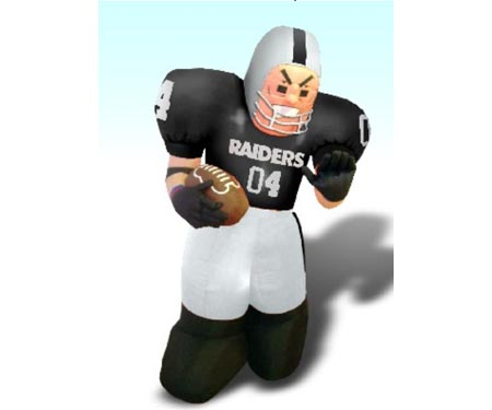 Oakland Raiders Running Back Nfl Giant Inflatable