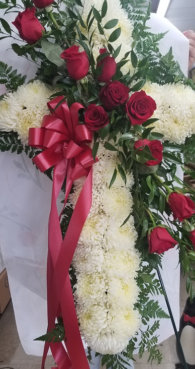funeral flowers arrangement